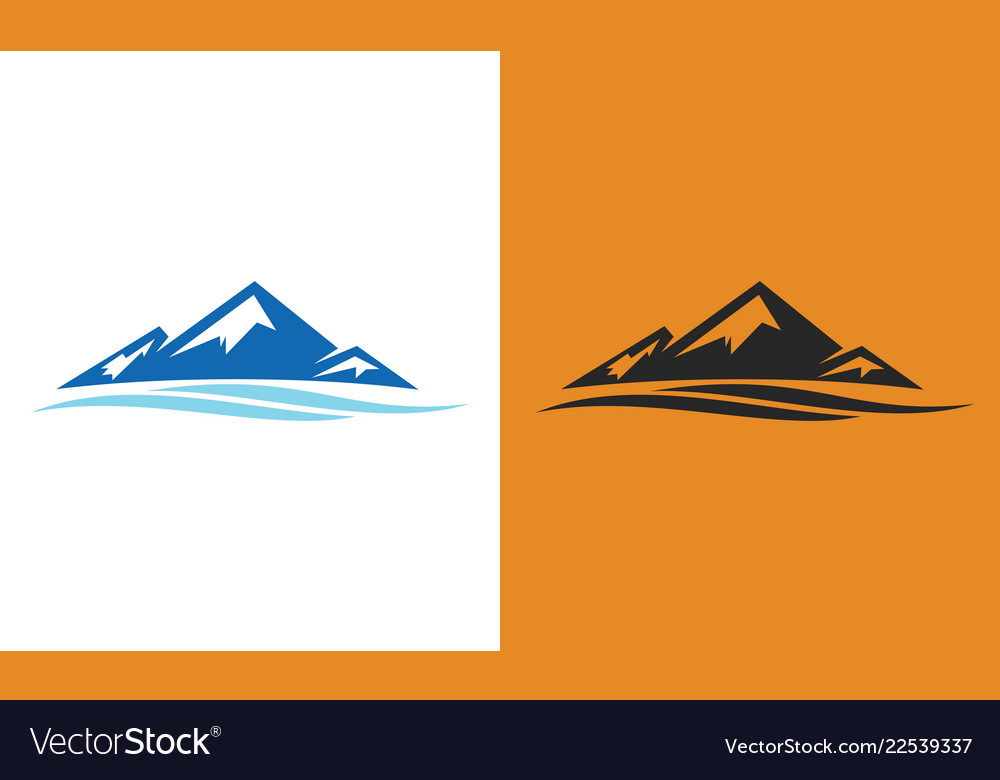 Mountain wave logo