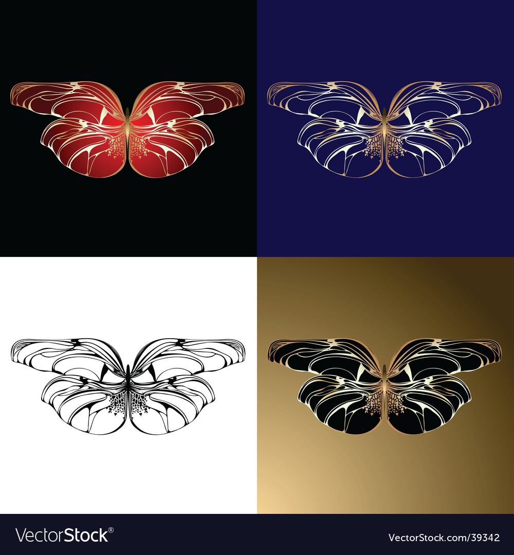 Jewelry butterflies