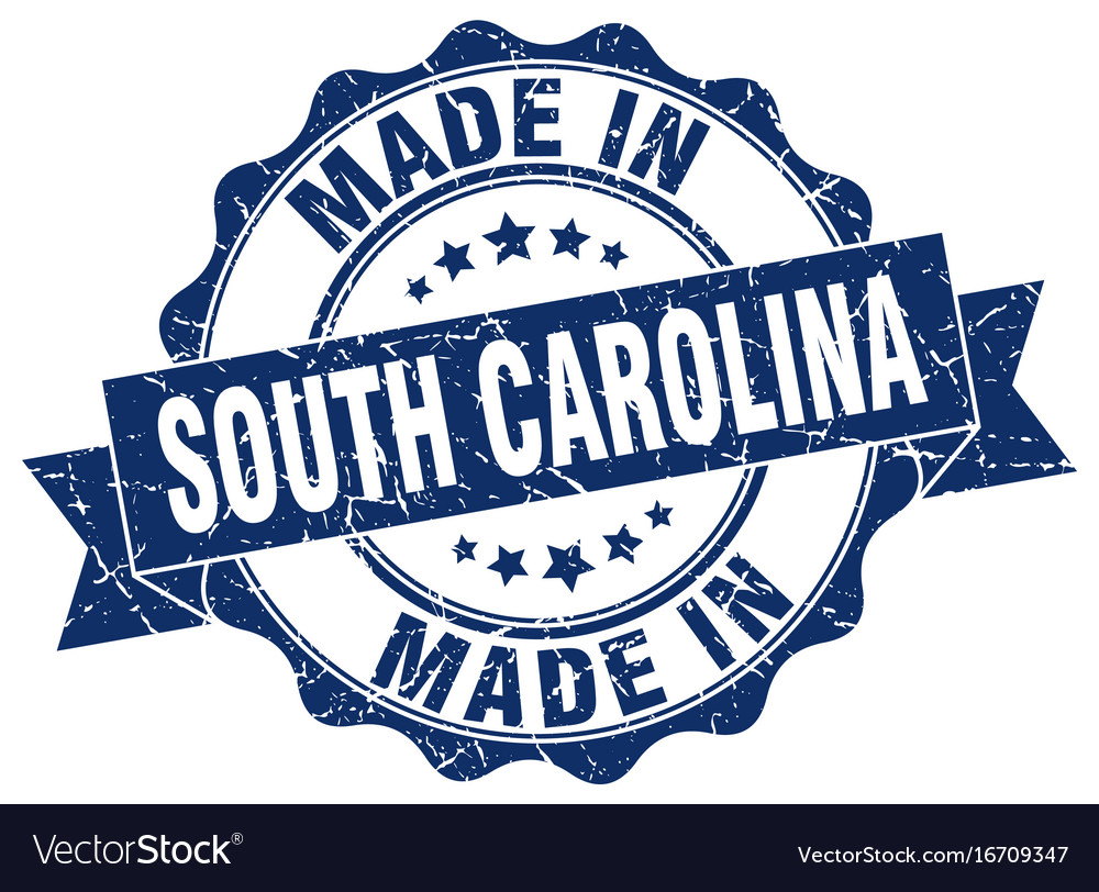 Made in south carolina round seal