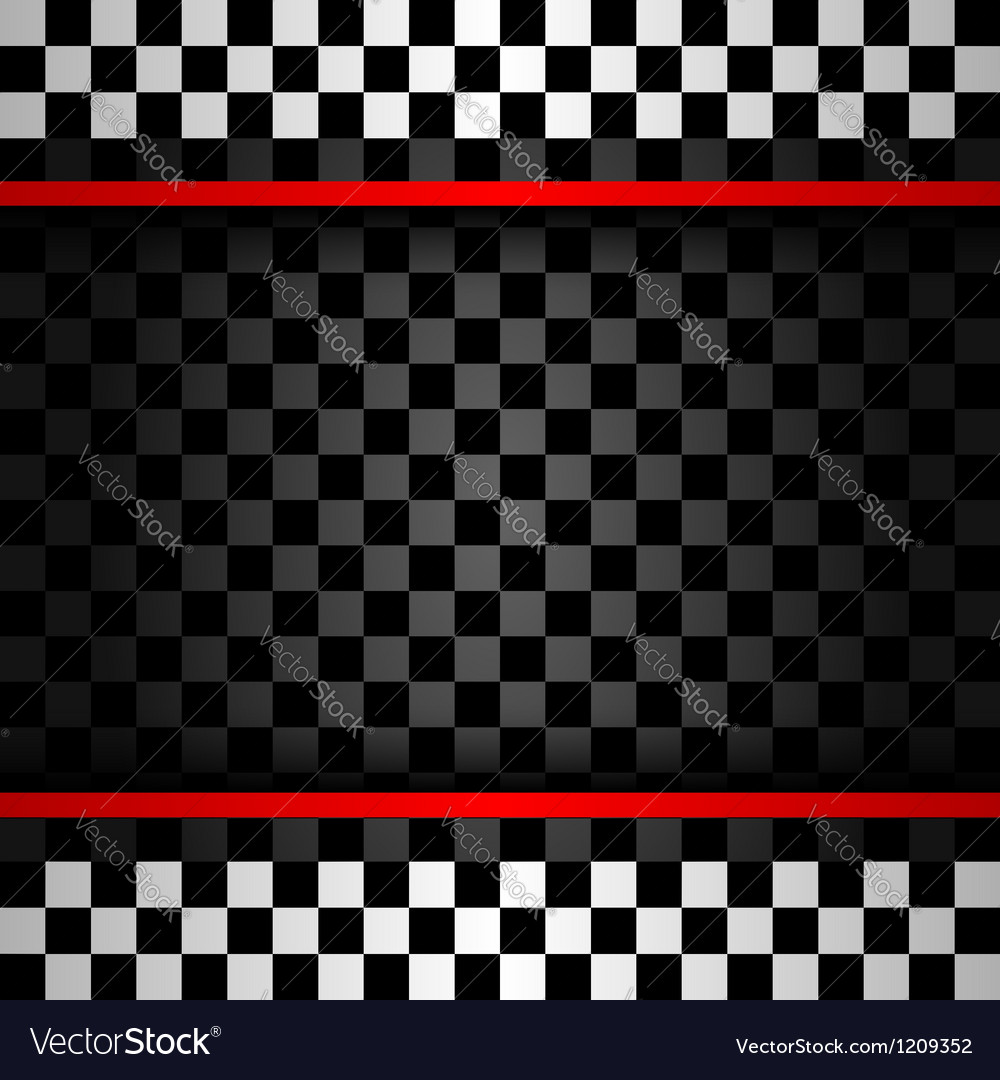 Racing square backdrop vector image