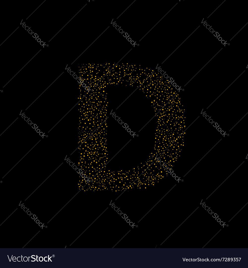 Magic D letter