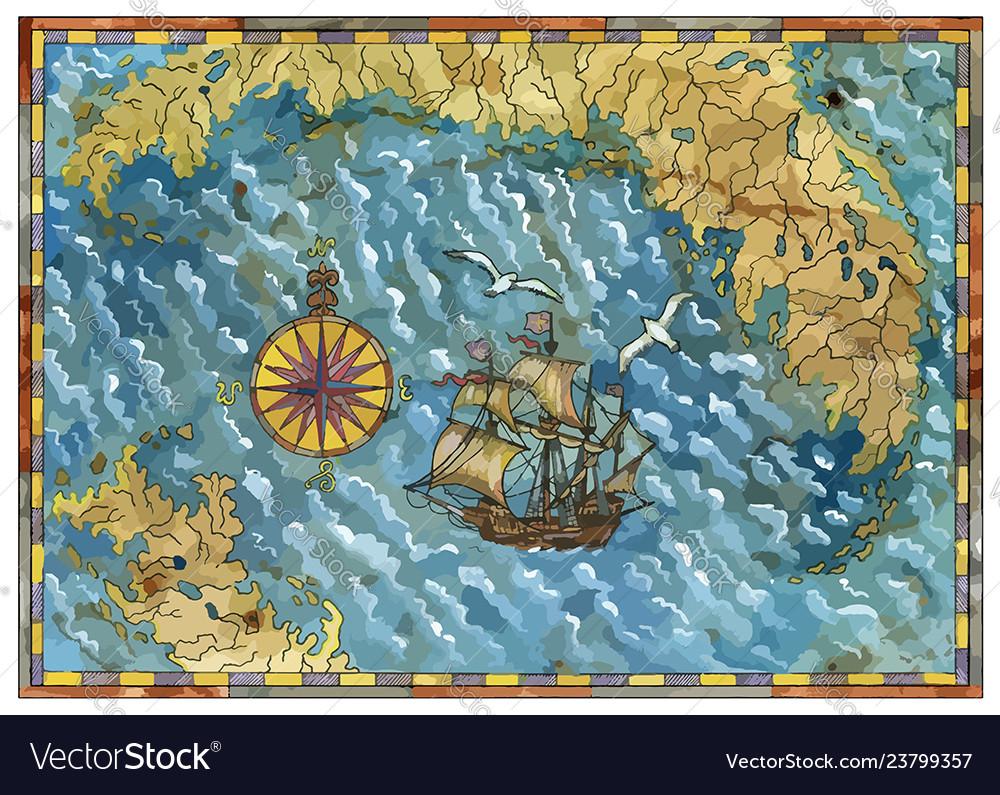 Pirate map 3