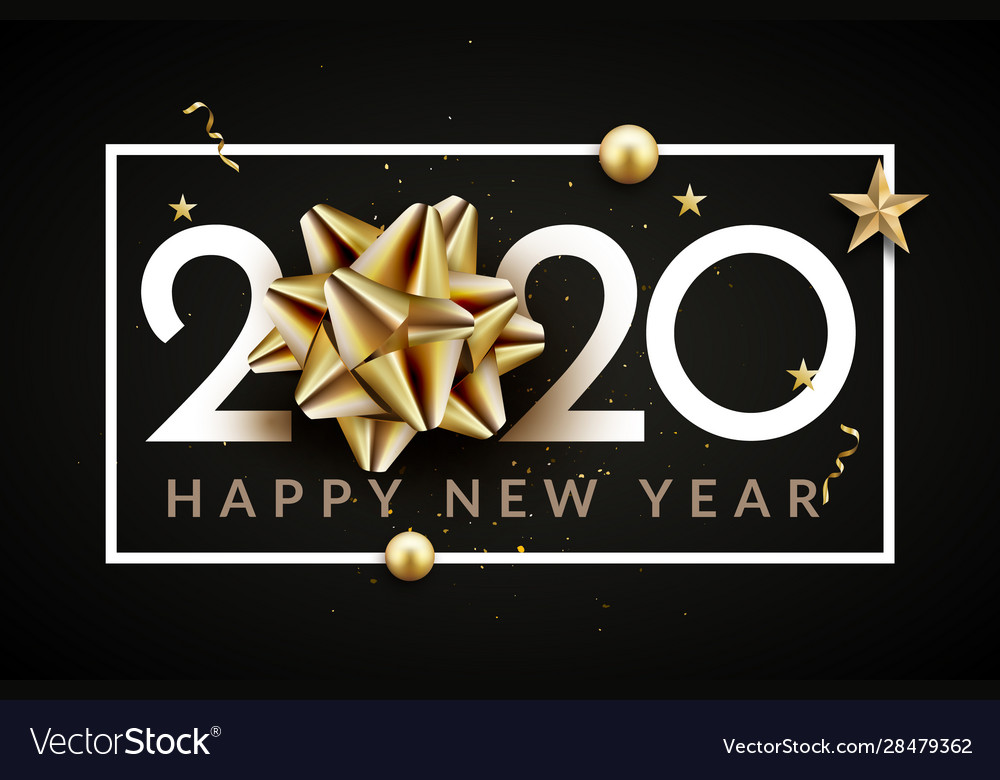 2020 new year happy eve party background 2020