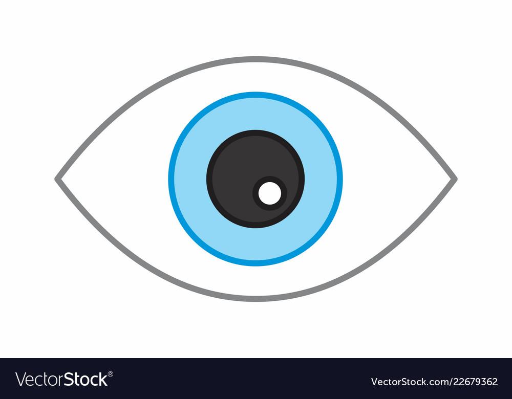 Eye colorful