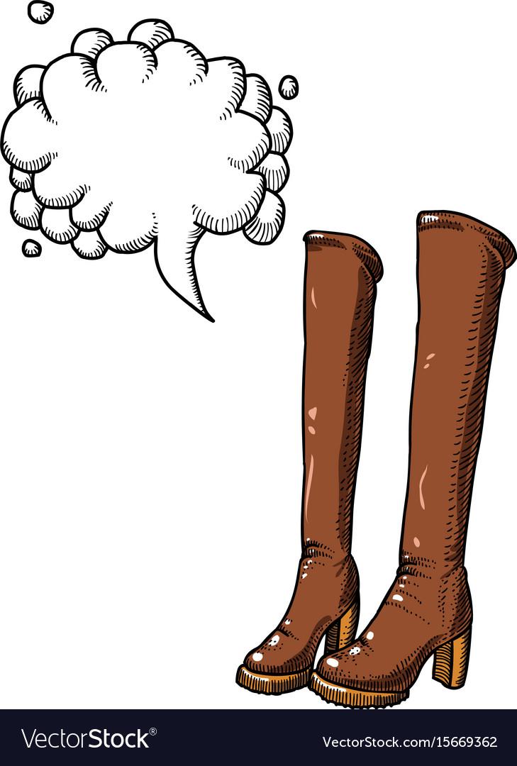 High boots-100