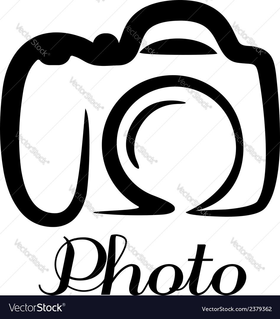 photo camera emblem royalty free vector image vectorstock rh vectorstock com photography victorville photography victor zammit weebly