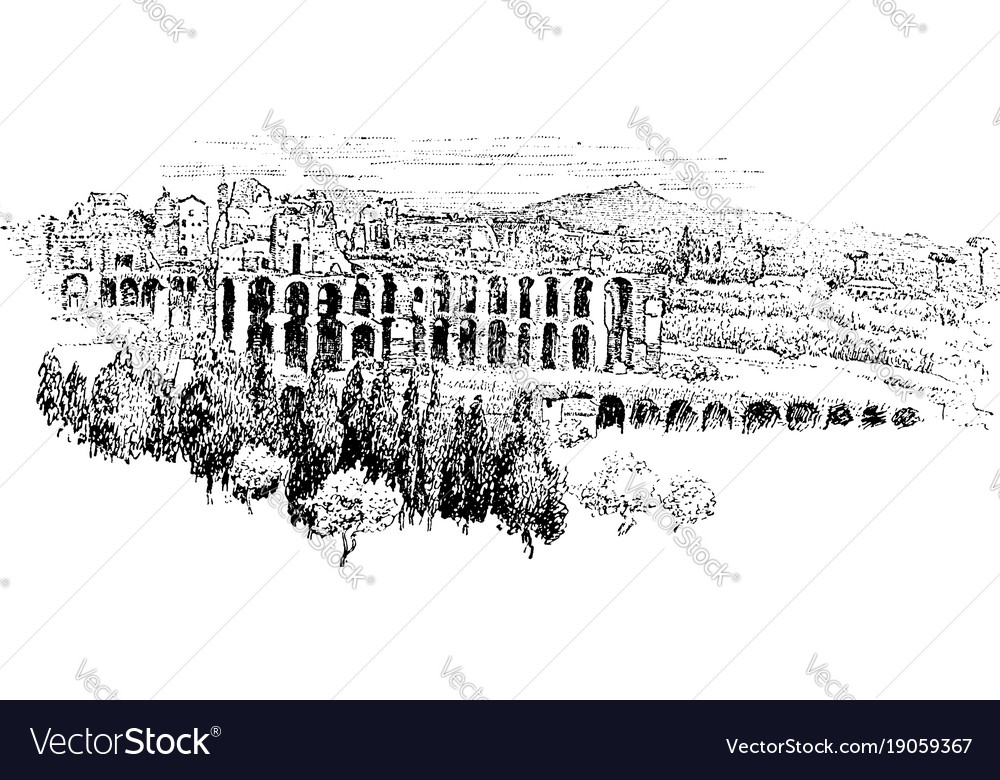 Palatine from aventine most ancient parts