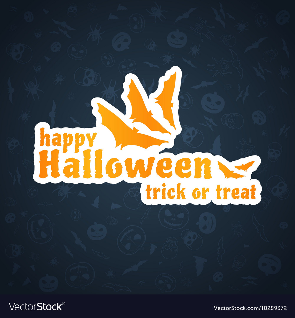 Halloween Background Abstract Blue Pattern