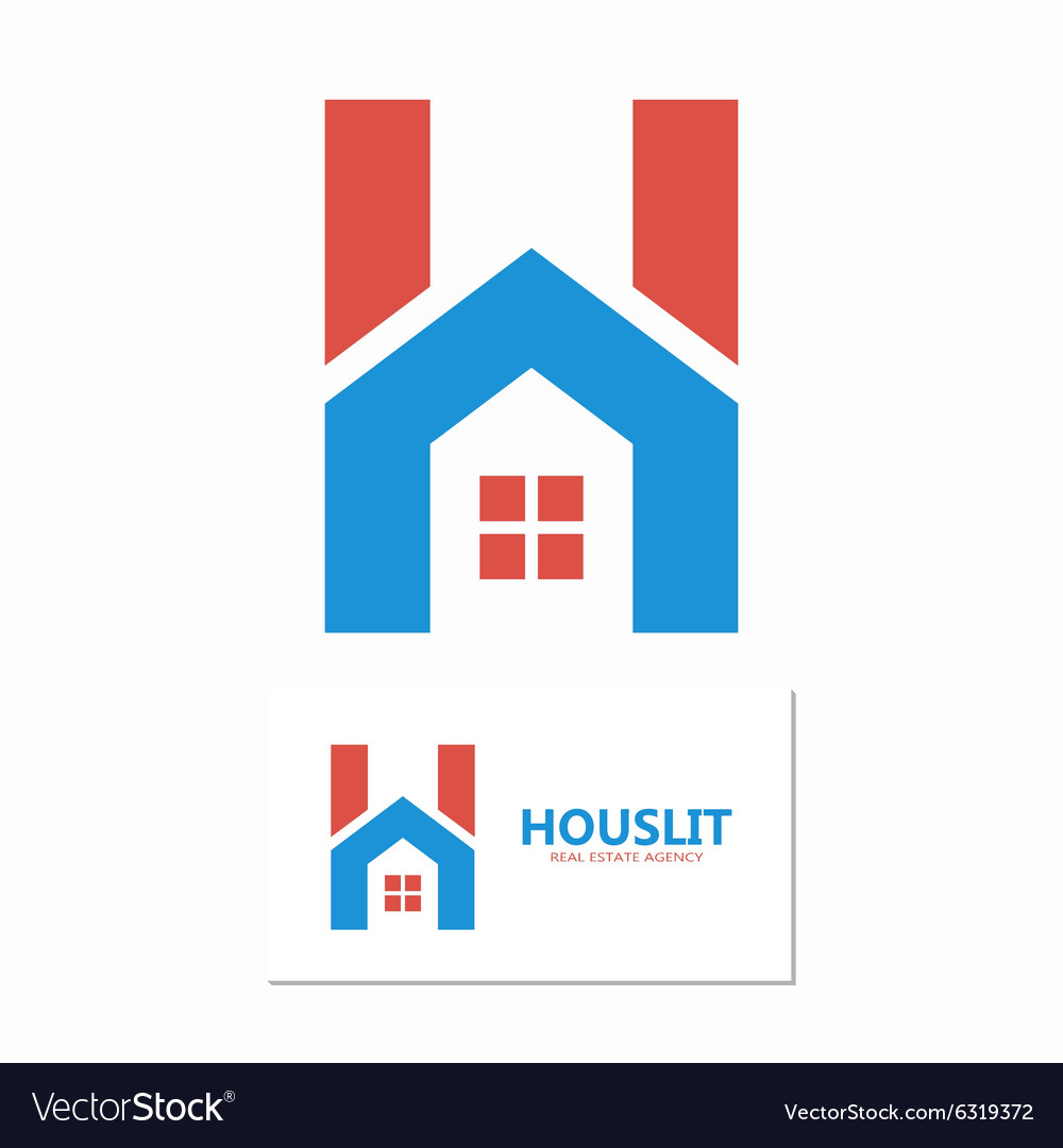 House with letter H logo