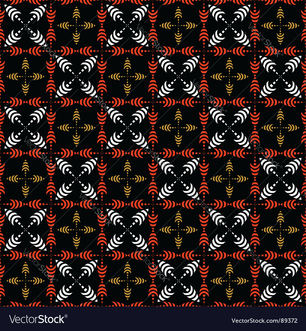 Seamless checked pattern with crosses