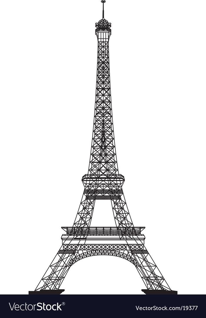 Printable Picture Eiffel Tower on Eiffel Tower Vector 19377 By Belarusochka