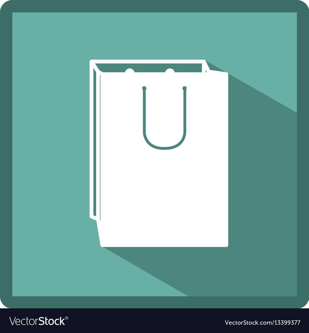 Emblem bag of gift icon