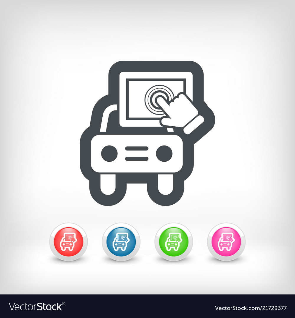 Touchscreen car device
