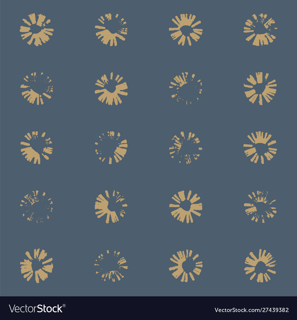 Flower stamp texture pattern wallpaper