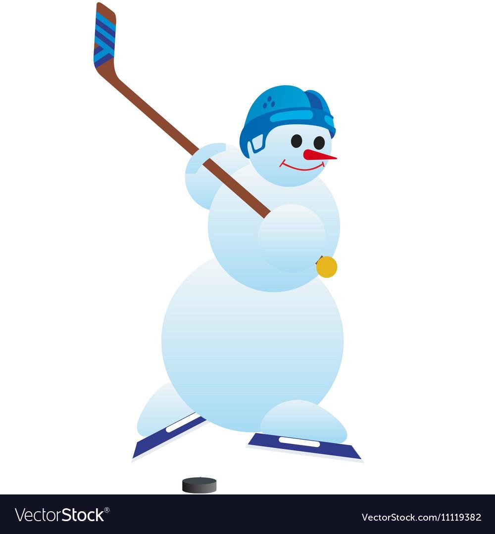 хорошим хоккей картинки снеговик четыре дня
