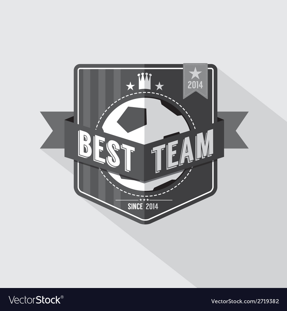 Soccer or Football Badge