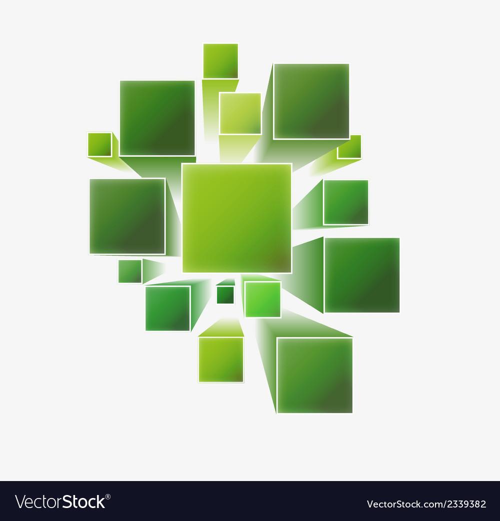 Three dimensional squares