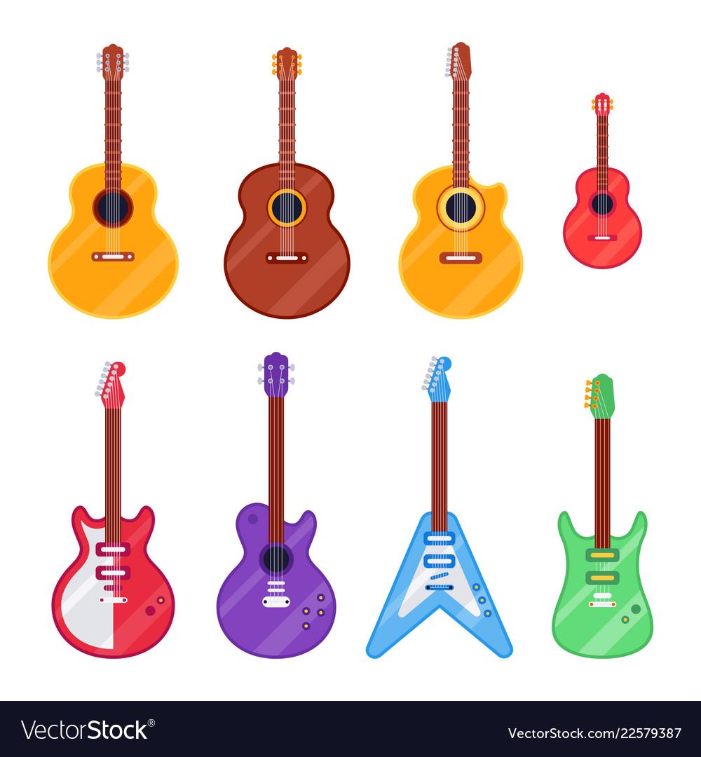 Flat guitar instrument ukulele acoustic