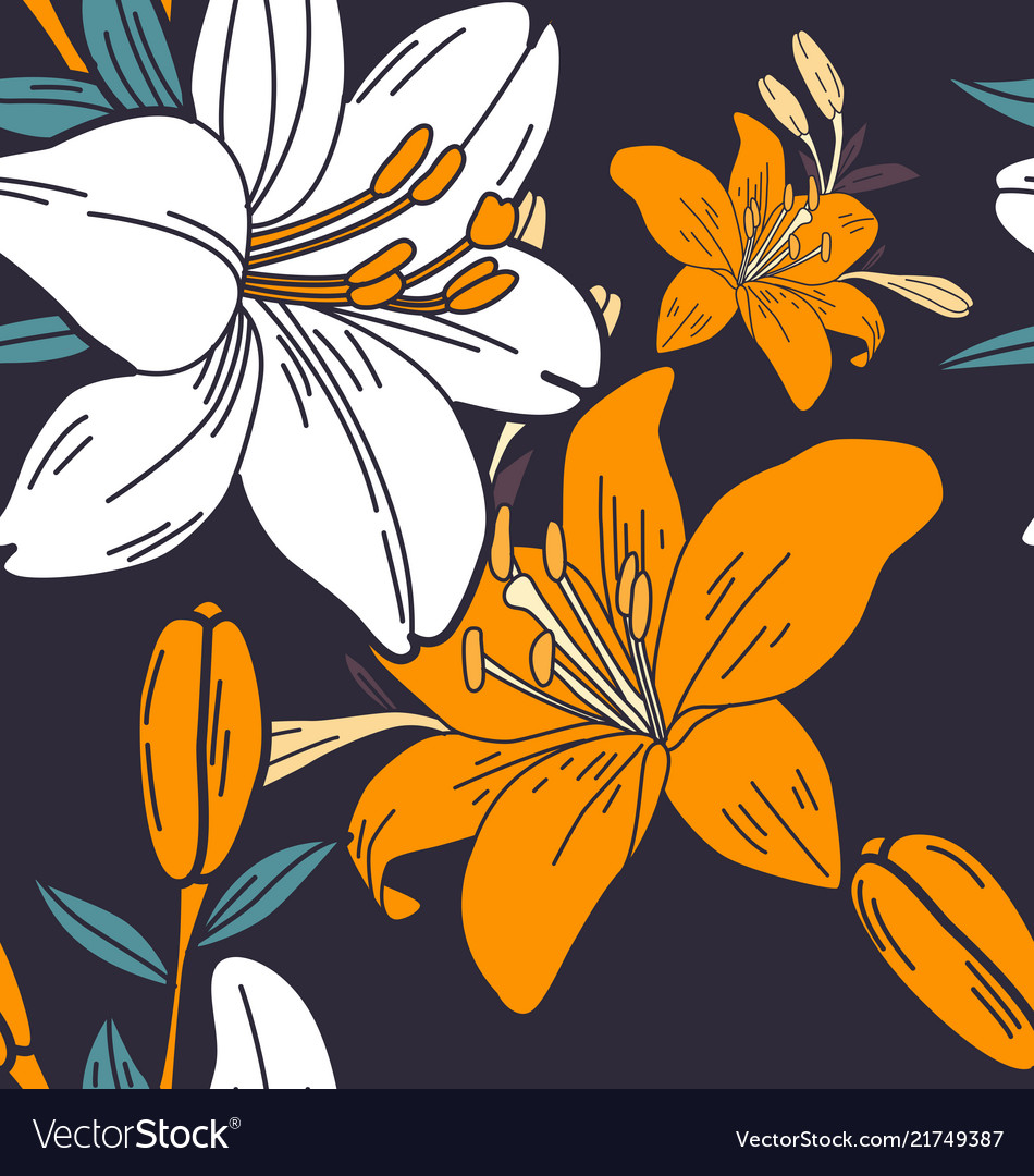 Floral seamless pattern2