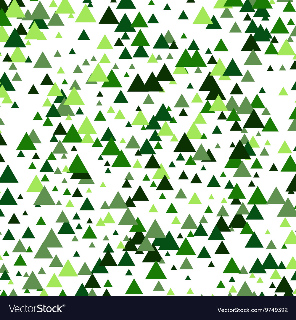 Abstract triangles background geometric vector image