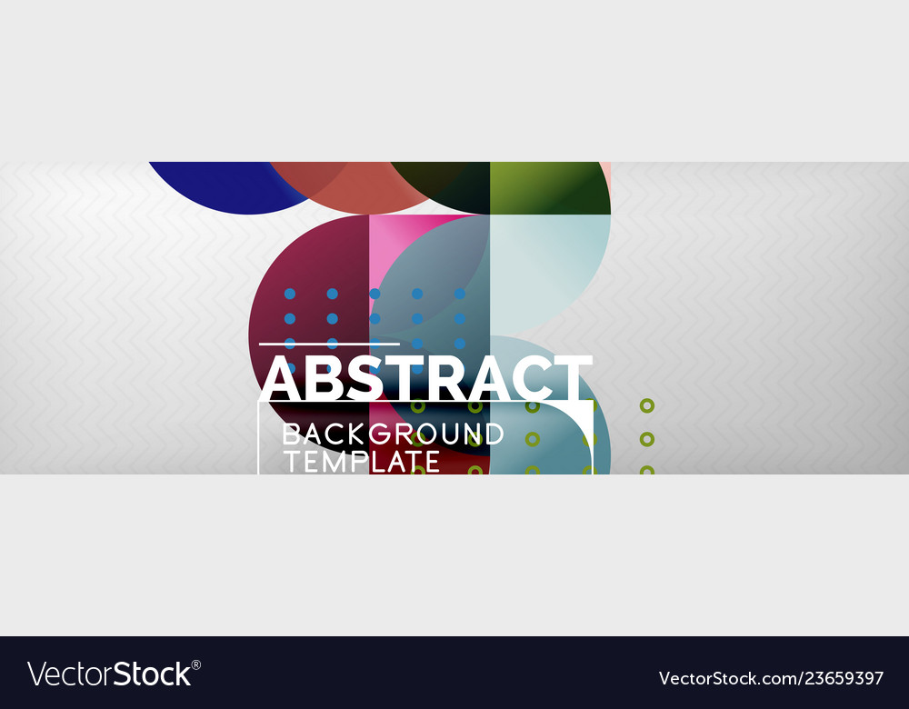 Abstract background geometric composition