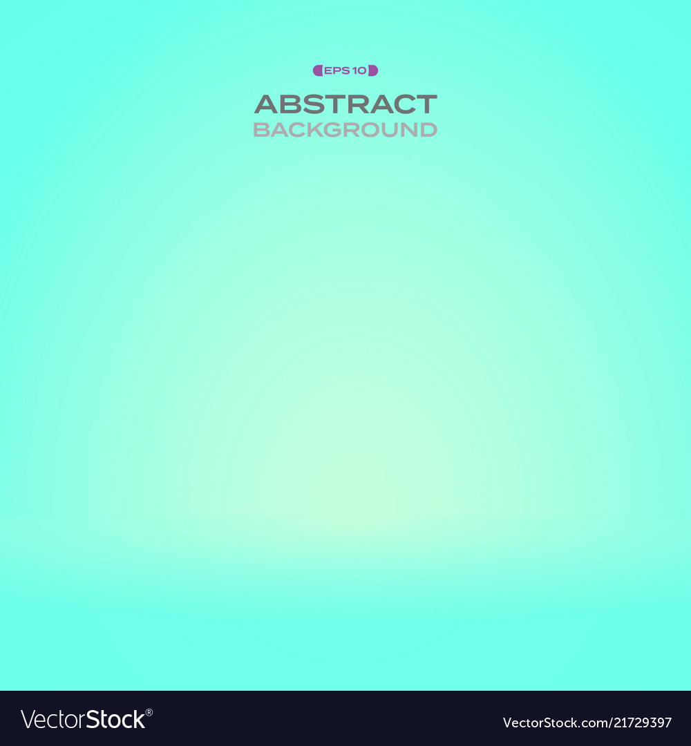 Abstract of clean gradient mint color background