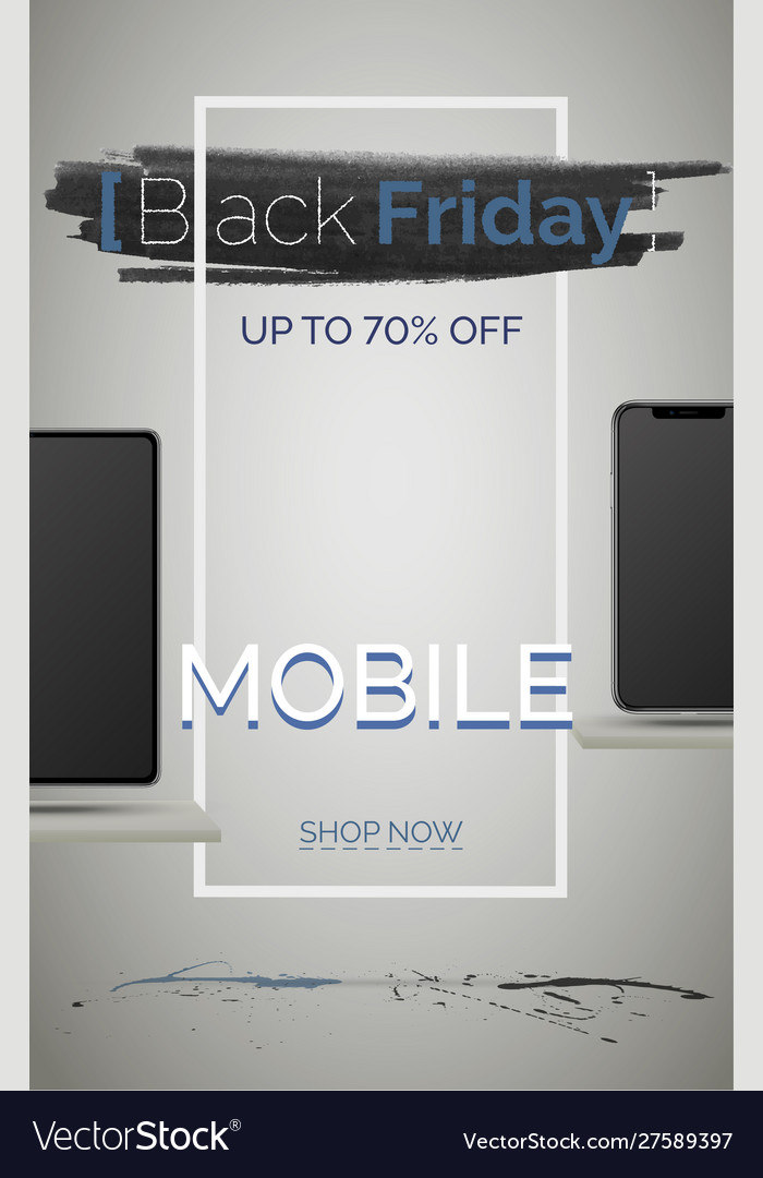 Black Friday Mobile Phone Sale Banner