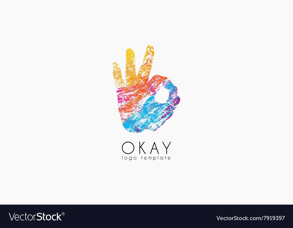 Okay logo Ok logo design Creative logo design