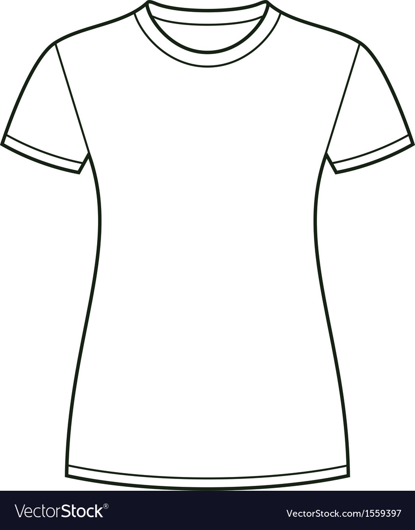 Shirt Design Template | White T Shirt Design Template Royalty Free Vector Image