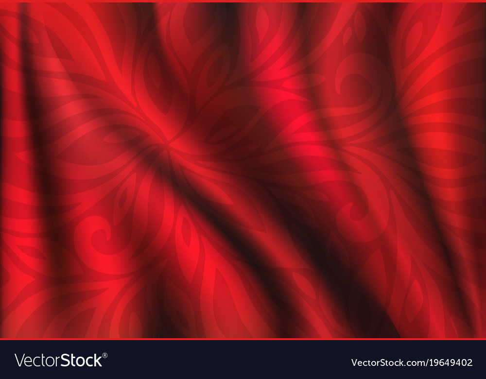 Red silk backgrounds drapery textile background