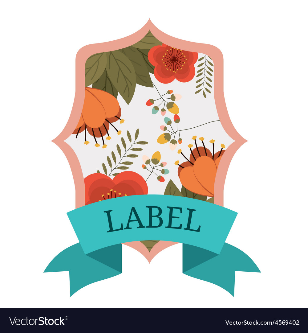 Retro and Vintage label design
