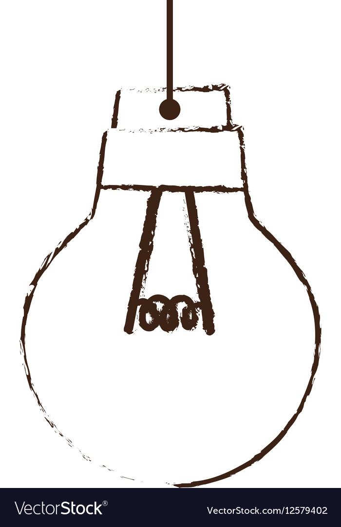 Sketch draw bulb light idea creativity