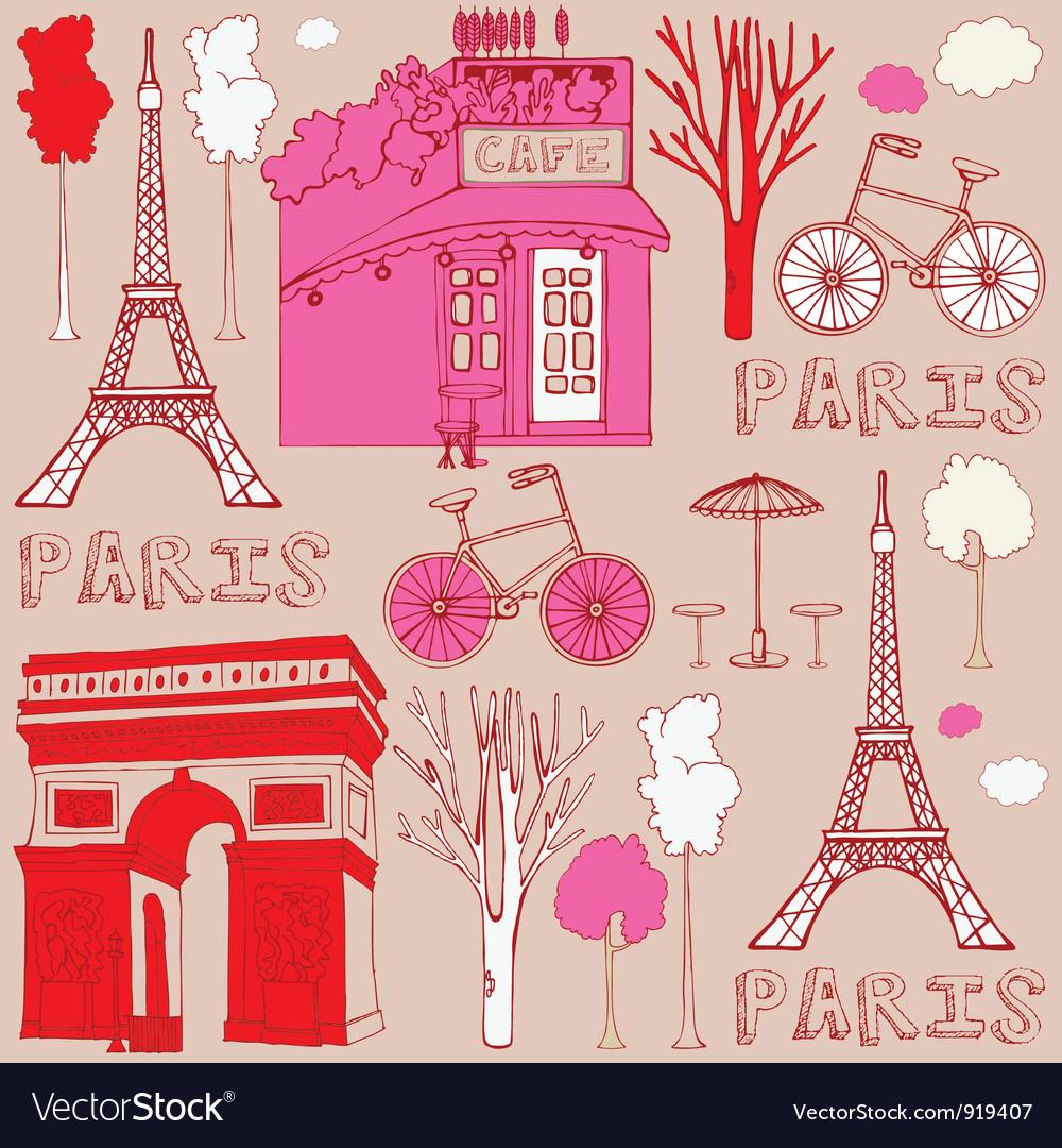 Paris Elements Background