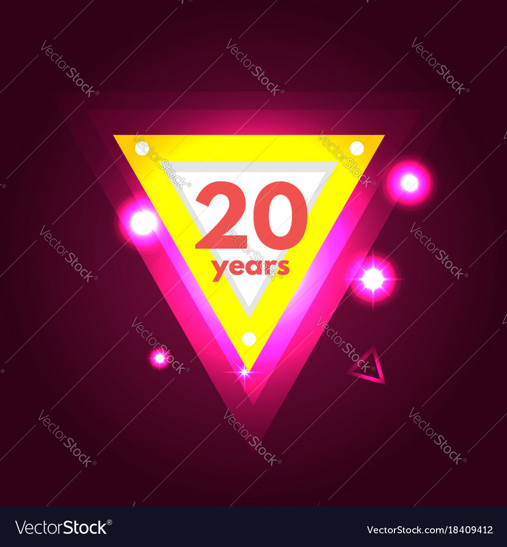 Anniversary 20 icon