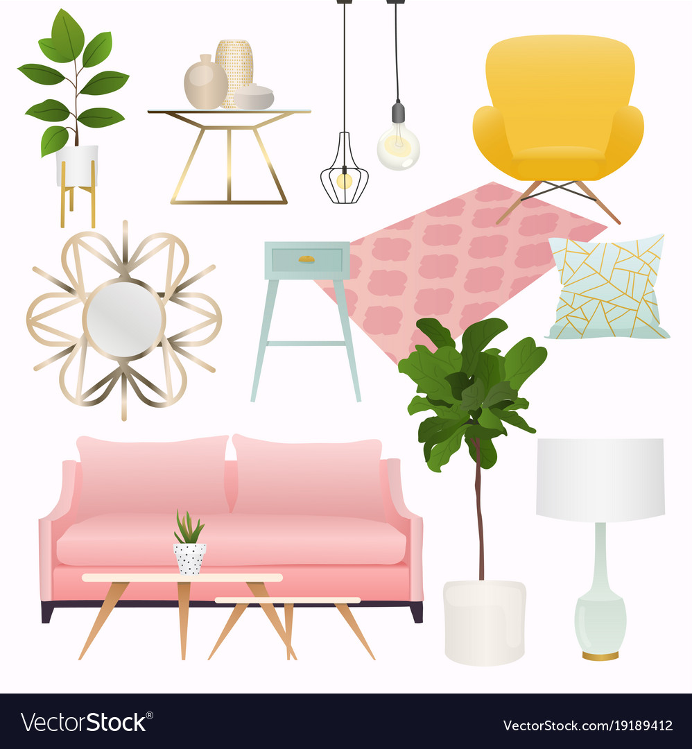 Living Room Furniture And Home, Living Room Decorative Accessories