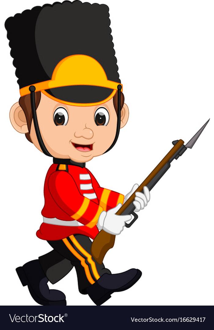 British guardsman cartoon
