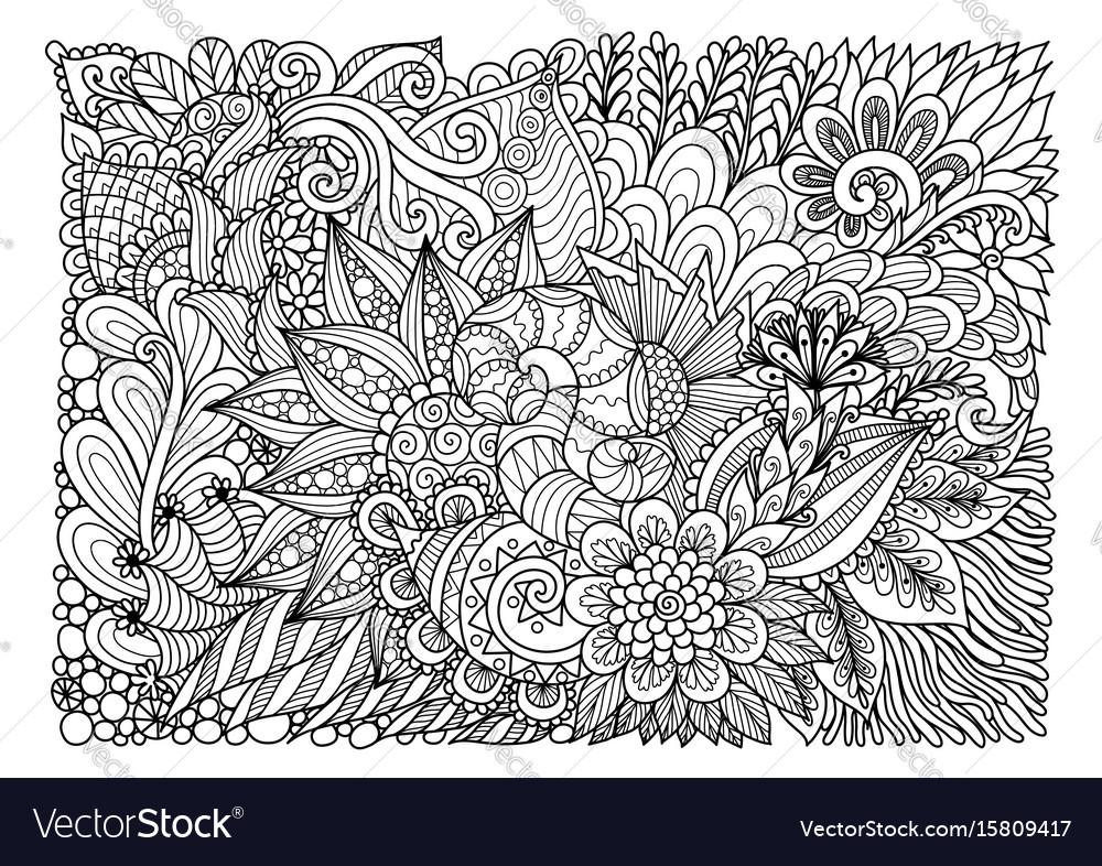 Floral background july 2017