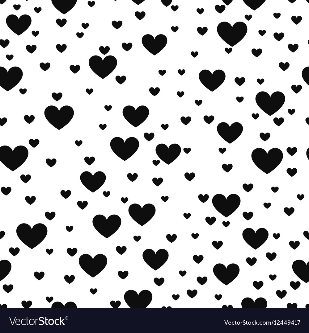 Heart Black And White Print Background For Website