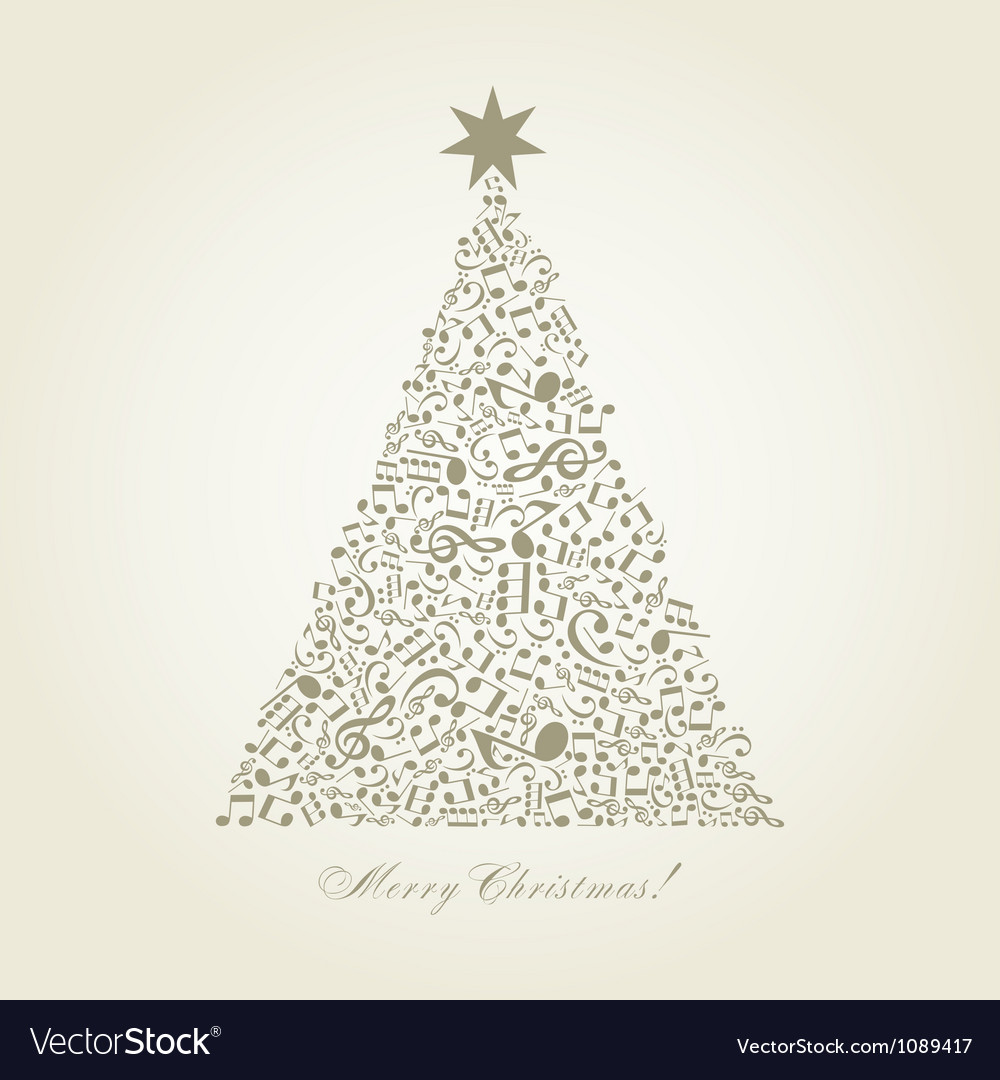 Christmas tree Royalty Free Vector Image