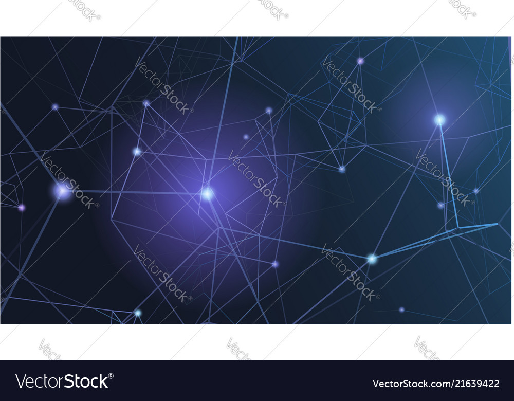 Abstract plexus shapes digital cyber background