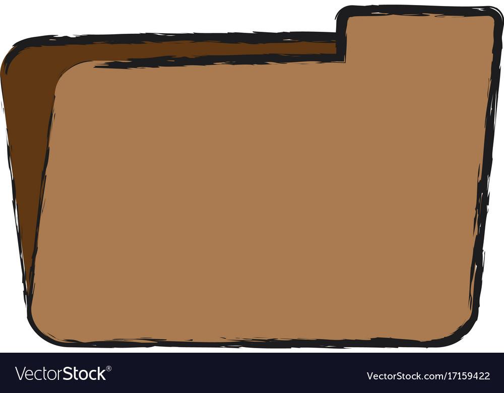 Folder icon image vector image