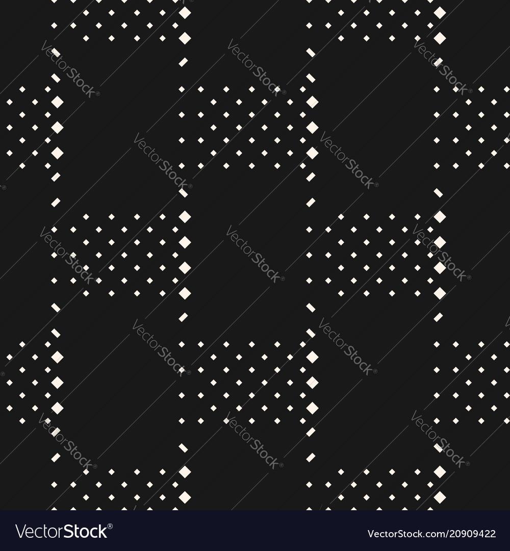 Minimal monochrome geometric seamless pattern