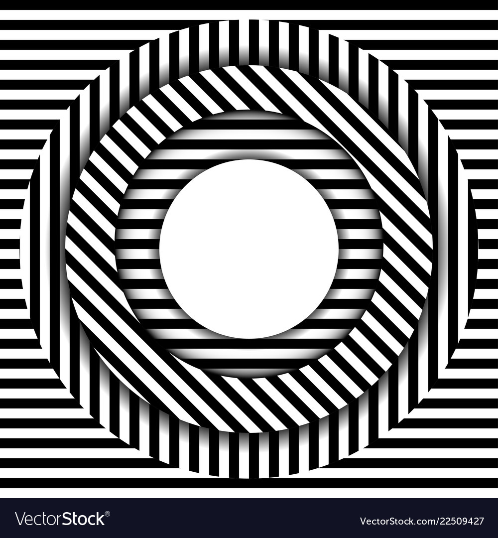 Abstract background with circles lines and shadow