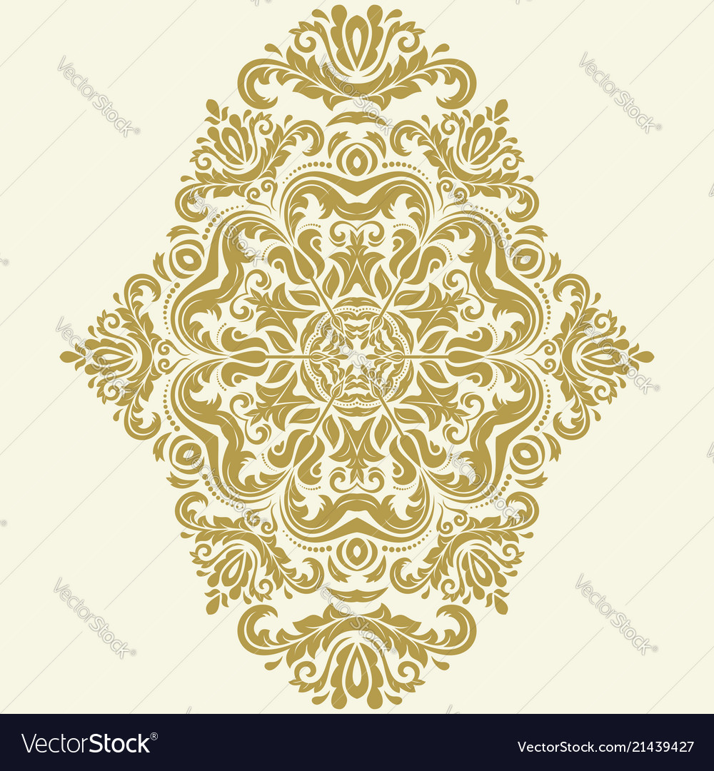Elegant ornament in classic style