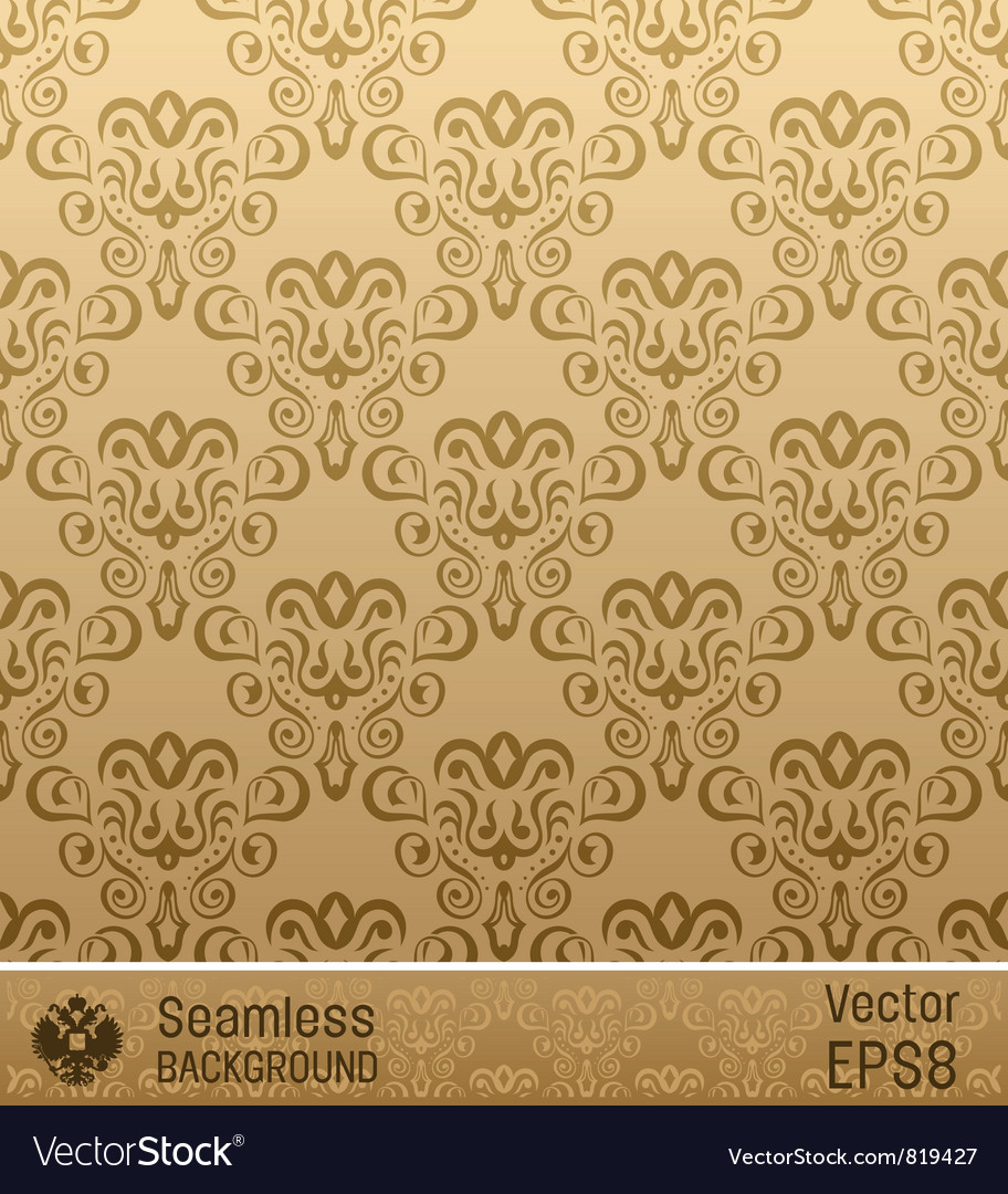 Old retro vintage backgrounds vector image