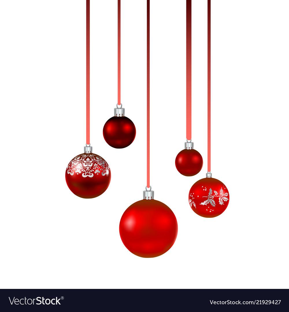 Red balls set