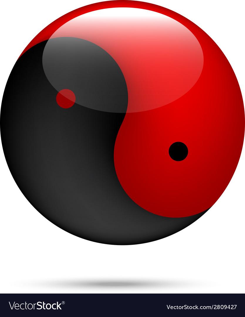 Yinyang vector image