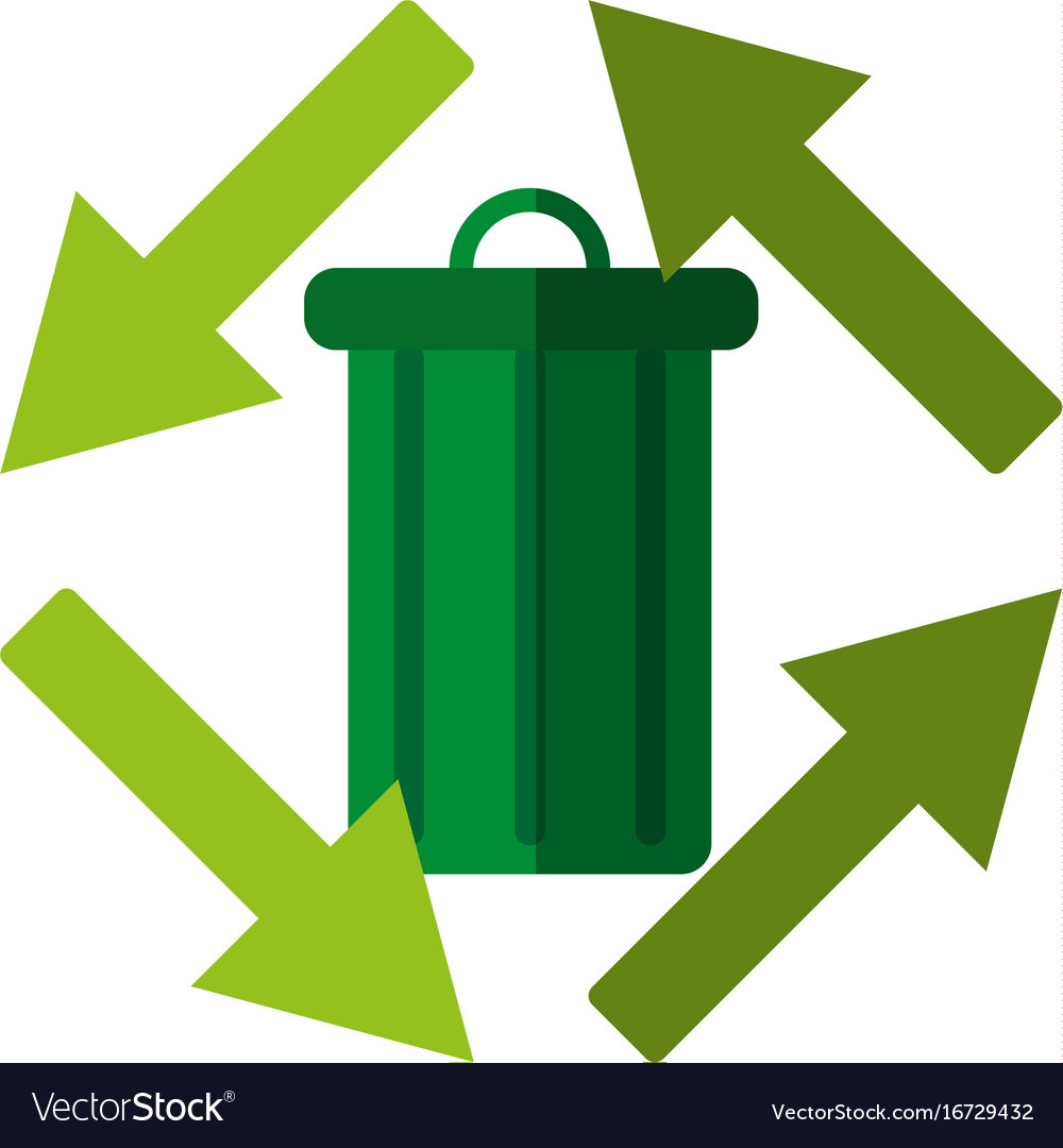 recyclable eco friendly icon image royalty free vector image rh vectorstock com recycling victor ny recycling vector free
