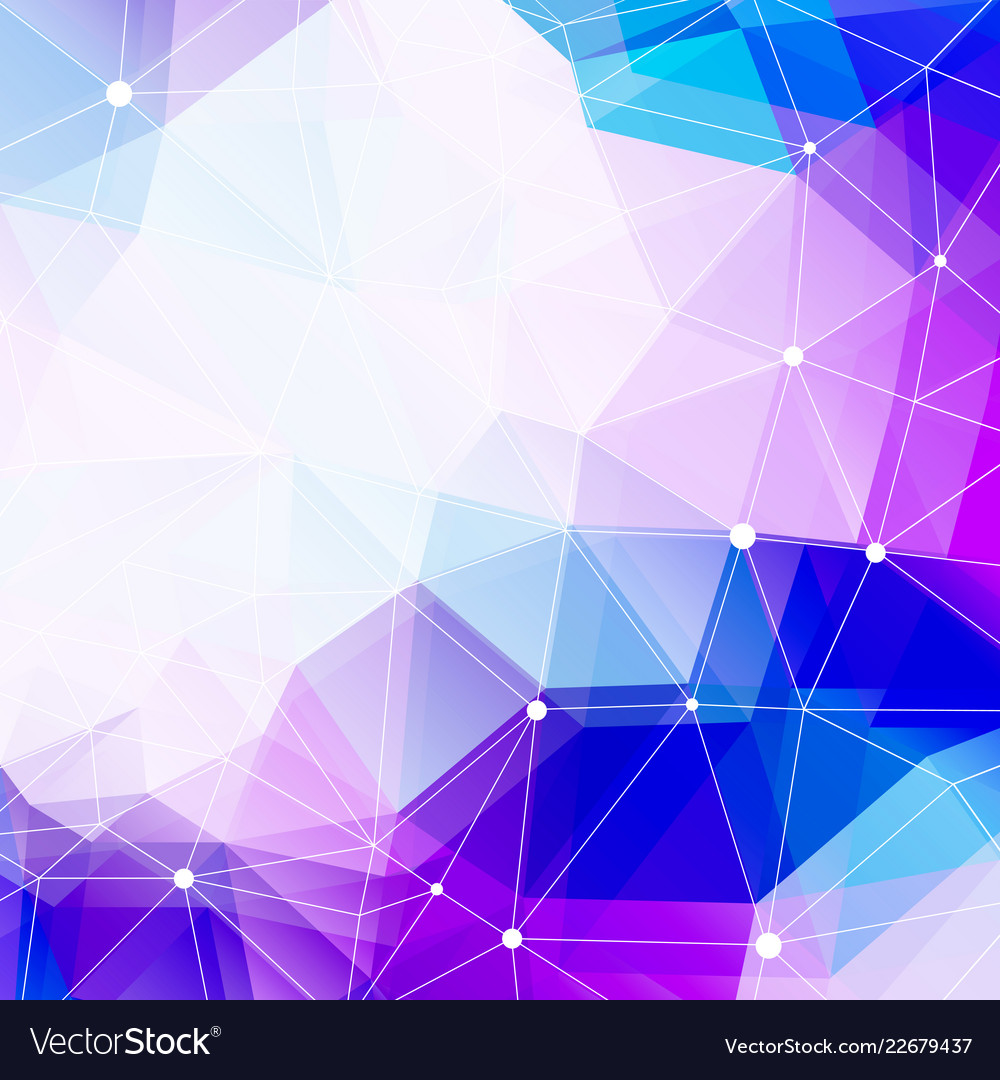 Polygonal background and copy space abstract