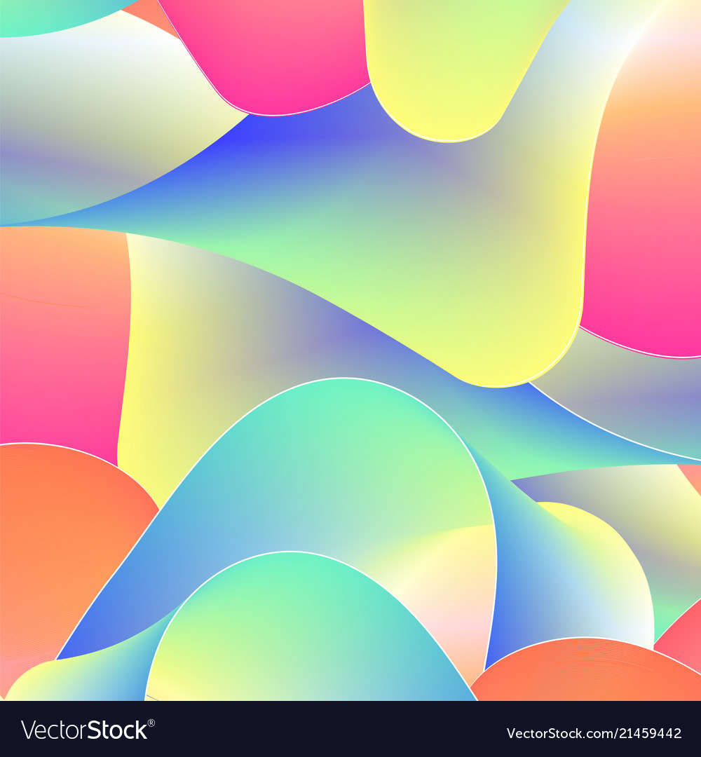 Abstract background from colored stripes